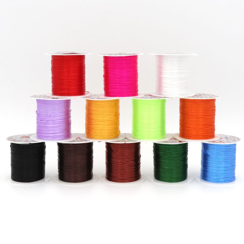 10 Meters/Roll 0.5mm Strong Beading Elastic Stretchy Cord Crystal Cord String Thread For Jewelry Making Diy Accessories10 Meters/Roll 0.5mm Strong Beading Elastic Stretchy Cord Crystal Cord String Thread For Jewelry Making Diy Accessories