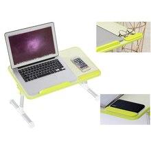 조정 가능한 노트북 테이블 다기능 컴퓨터 책상 학생 기숙사 간단한 학습 테이블 접는 휴대용 침대 책상
