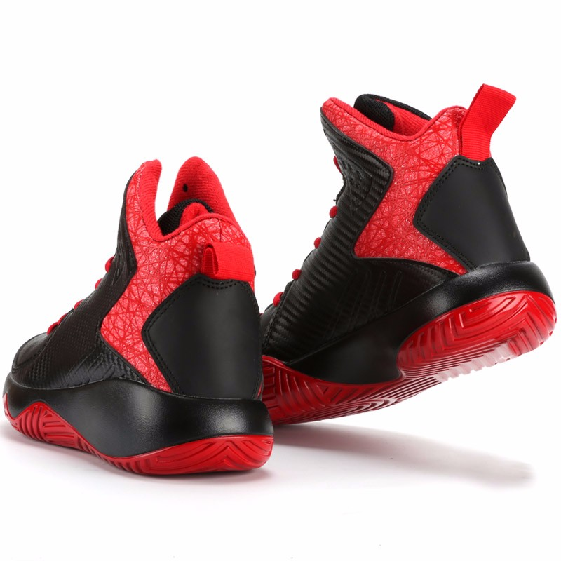 High Top Mens Shoes Casual Lace Up Breathable Trainers Spring Autumn Sport Black White Red Basket Shoes Outdoor Size 39-44 YD43 (25)
