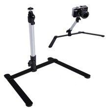 Регулируемая столешница Алюминий Камера мини-монопод с 1 Гибкая подставка для DSLR цифровой Камера l3ef