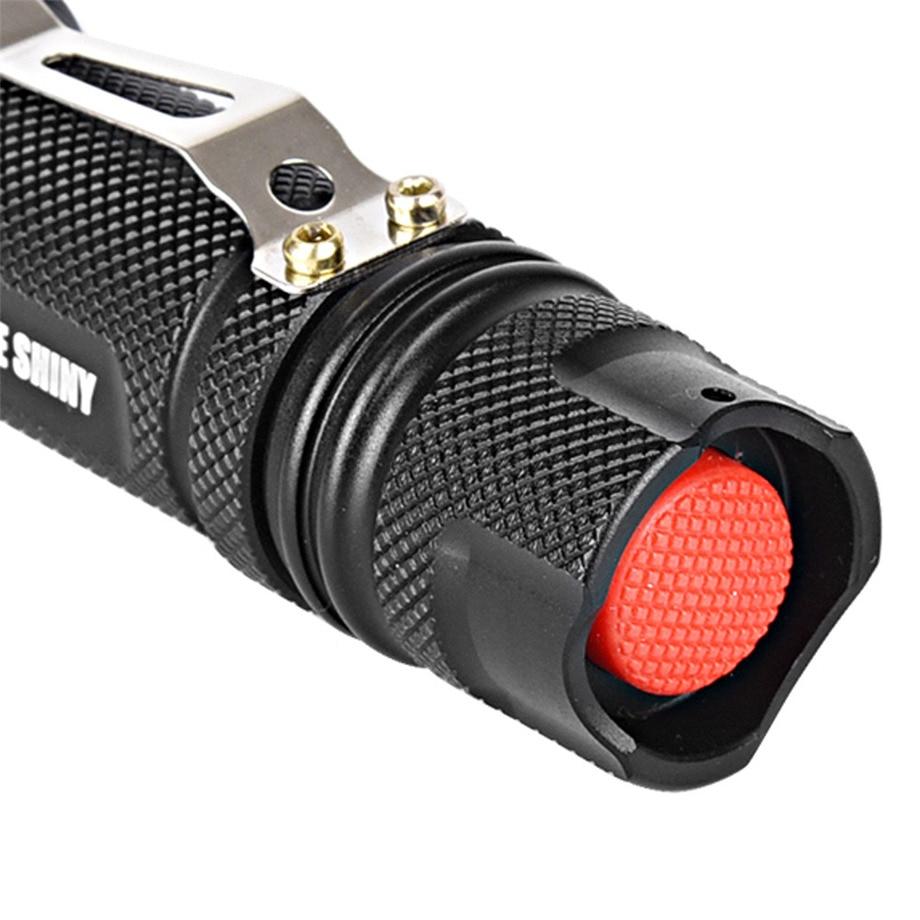 PROBE SHINY Super 5000lm Shadowhawk X800 Tactical Flashlight LED Zoom Military Torch G700 Dropshipping #1101