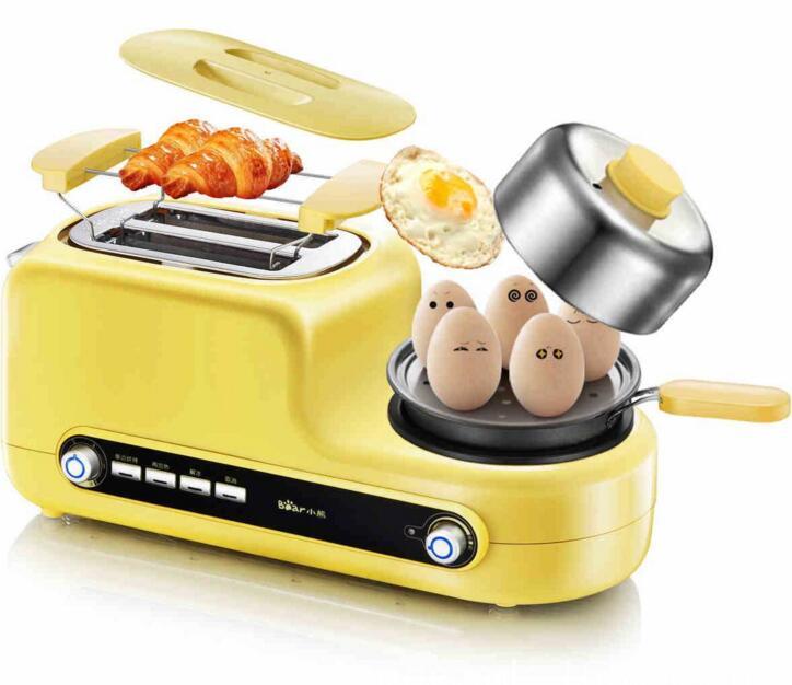 Maison petit déjeuner Machine Sandwich Machine multi-fonctionnelle grille-pain pain cuisson Machine oeuf cuiseur Bacon Machine à frire DSL-A02Z1