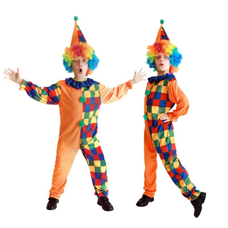 Aliexpress.com : Buy Children suit clown wig cosplay costumes ...