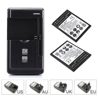 For LG V10 H968 BL 45B1F Mobile Phone Backup Battery 2 X 3200mah Replacement Commercial Battery