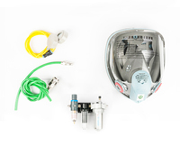 FB 8509 air supply full face mask Respirator Gas mask kit with 3 Stage Filter for Paint Spray Y