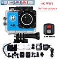 4K Cam Gyro Wifi Outdoor Sport Action Camera Kamera gro waterproof 1080P DV pro 170 degree Helmet Camcorder Recorder 2.4G