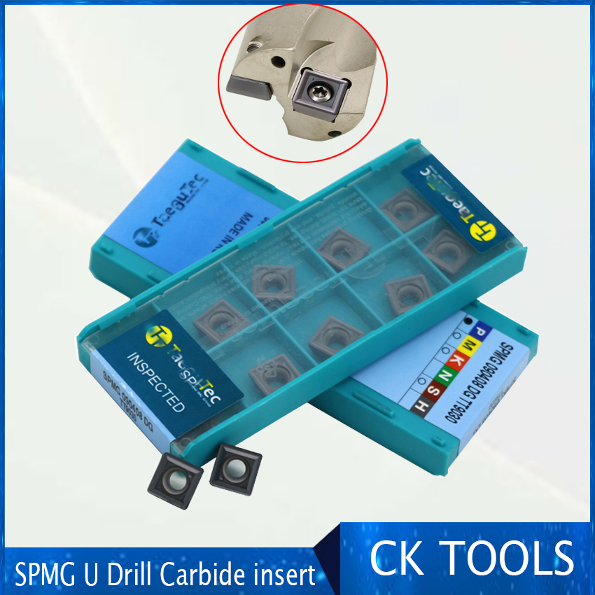 carbide insert SP type SPMG 050204 060204 07T308 090408 S110408 SPMG140512 high speed insert power fast drill insert-in Turning Tool from Tools