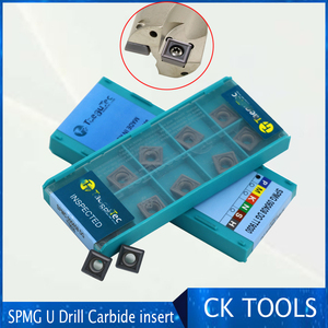 Image 1 - carbide insert SP type SPMG 050204 060204 07T308 090408 S110408 SPMG140512 high speed insert power fast drill insert