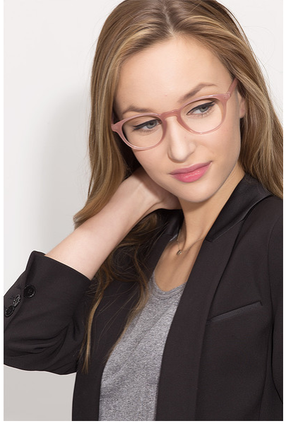 aliexpresscom buy pink semi transparent acetate eye glasses frames for women oval shaped optical spectacle glasses frame from reliable frame outdoor