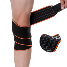 2PCS Elastic Bandage Sport Non-slip Nylon Knee Strap Wraps Fitness Weight Lifting Training Band Belts Pain Relief Protector