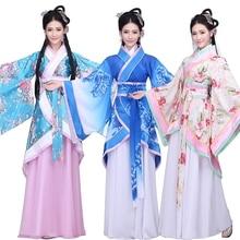 Hanfu female costumes Qufu skirt original  fairy improved Chinese style