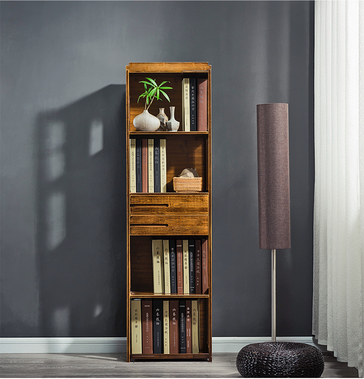 Bookcases Living Room Furniture Home Wood Bookshelf Storage Rack 422879 109 149cm Cabinet Display Book Stand Modern In From