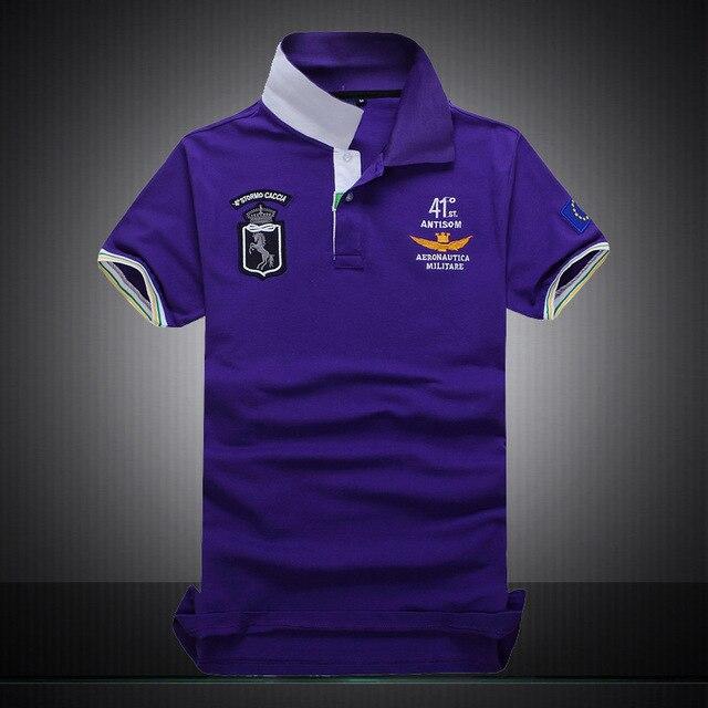 Высокое Качество Мужчины Хлопок Polo Shirt Лето Стиль Тонкий Дышащий Поло Мужские Классические Поло Ежедневно Homme Polo Shirts
