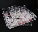 Acrílico Organizador Cosmético de Maquillaje caja de La Joyería Caja de ALMACENAMIENTO Cajón de Regalo