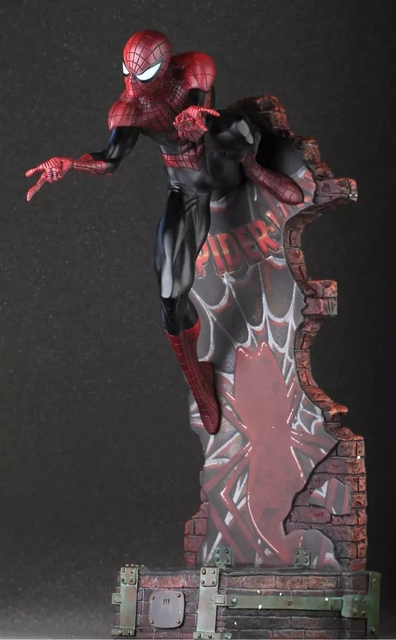 Marvel Spiderman The Amazing Spider-man PVC Action Figure