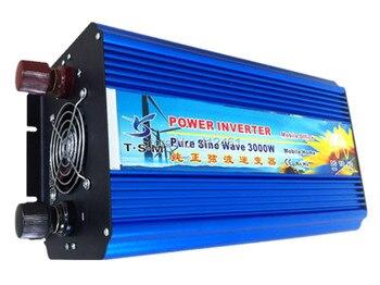 zuivere sinus converter 3000w inverter pure sine wave max 6000w power DC 12V 24V 48V to AC100V-240V for solar wind home use