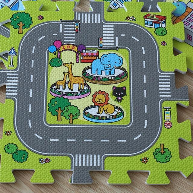 Tapis mousse Puzzle 9 pièce Bébé enfants