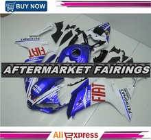 Rossi 46 Color 100% Fitment ABS Plastic Fairing Cowling Kit For Yamaha YZF R1 2007 2008 Bodywork