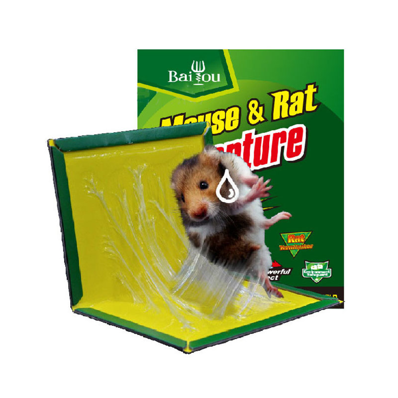 New 35*22 CM Efficient Sticky Mouse Board Super Strong Big Rat Paste Household Mousetrap Rat Poison Rat Glue Boards Clip BS