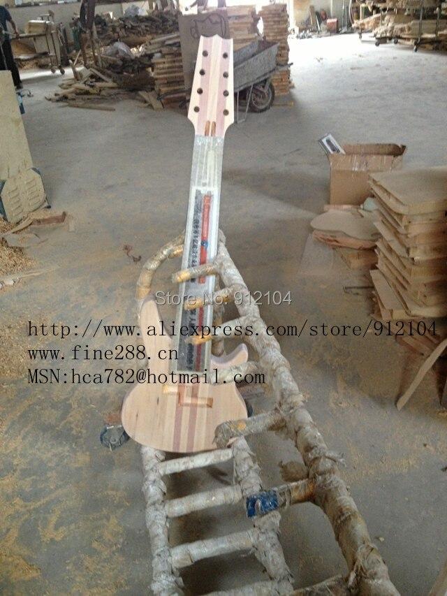 Livraison gratuite nouvelle guitare basse électrique à 8 cordes semi-fini fabriqué en chine + boîte en mousse F-1850-1