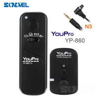 YP-860 n3 لاسلكي مصراع الإفراج عن كانون eos 10d 20d 30d 40d 50d 7d 7d mark ii 5Ds 6d 5d مارك الثاني 5d مارك الثالث 1ds 1dx
