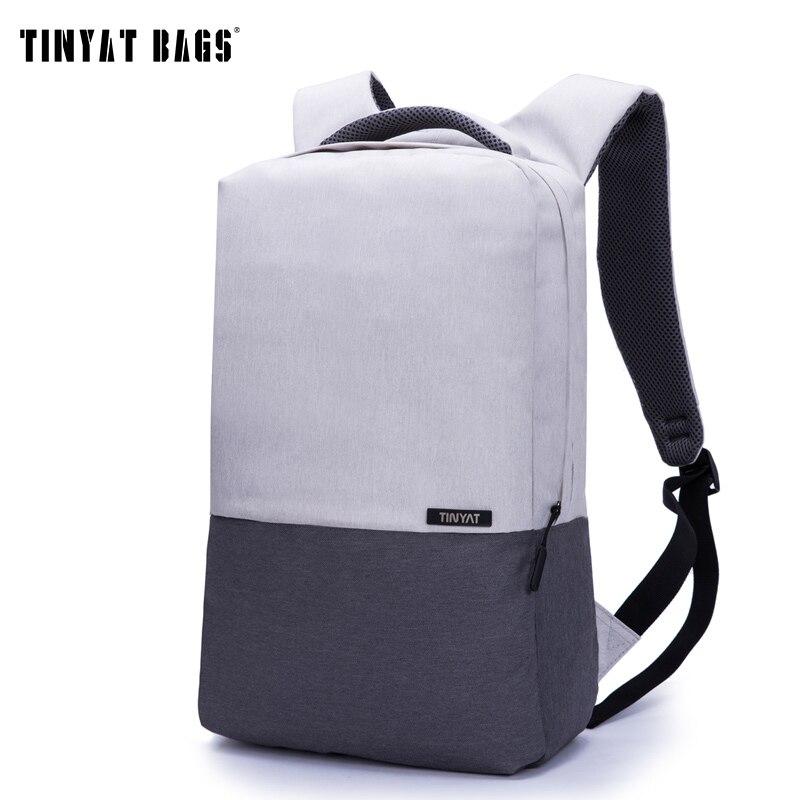 pretty cheap sale retailer terrific value TINYAT Men Laptop Backpack For 15/16 inch USB Anti theft ...