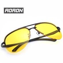 High end Night Vision Goggle SunGlasses UV400 Polarized Night Driving Glasses For Men's Driver Anti-Glare Glasses Sport Eyewear