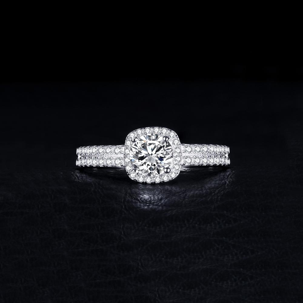JewelryPalace 1ct CZ Halo Engagement Ring 925 Sterling Silver Rings for Women Anniversary Ring Wedding Rings JewelryPalace 1ct CZ Halo Engagement Ring 925 Sterling Silver Rings for Women Anniversary Ring Wedding Rings Silver 925 Jewelry