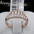 Iutopian chegada nova genuína austríaco amor coroa anéis para homem com cristal austríaco stellux alta qualidade # rg94929