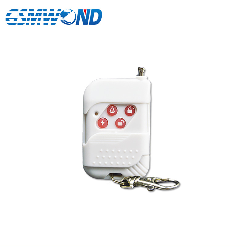 Hot Selling 433MHz Wireless White Remote Controller For Home Burglar Alarm System For Wifi GSM Alarm SystemHot Selling 433MHz Wireless White Remote Controller For Home Burglar Alarm System For Wifi GSM Alarm System
