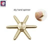 10psc Lot Free Hand Spinner Fidget Spinner Stress Cube Torqbar Brass Hand Spinners Focus KeepToy And