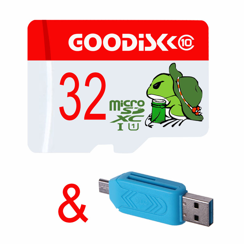 32GB C10 Memory Card Really Capacity Micro SD 16GB 8GB 32G 64GB 128GB Class10 UHS 1