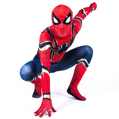 Iron Spiderman Avenger League Unlimited war Kids COSplay Halloween Dance Costume Cosplay Clothing