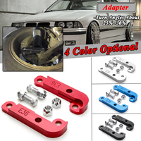 2x 4 Colors Adapter Increasing Turn Angles About 25% 30% Drift Lock Kit For BMW E36 M3 Tuning Drift Power Adapters & Mounting