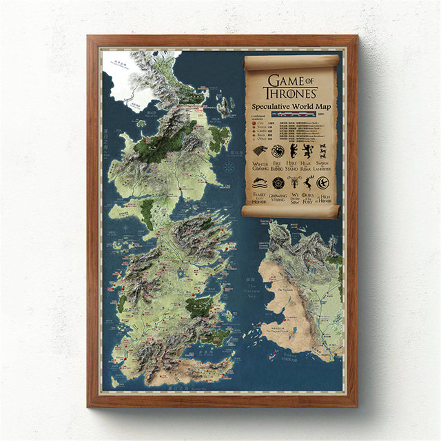 Vintage Map Poster  5