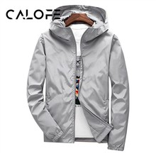 cc7b7c731724 CALOFE осень куртка для бега с длинными рукавами худи для тренинга Фитнес спортивные  пальто антипиллинговым дышащий Для мужчин н.