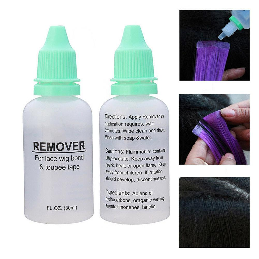 Hair-Extension-Remover Wigs Melt-Glue Bond-Tape Lace-Frontal 30ml