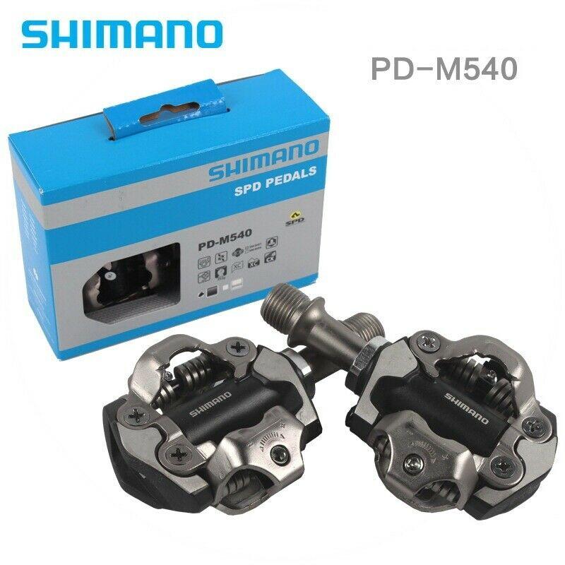 M8000 M8020 M520 SPD Clipless Pedal MTB Bike Pedals W// Cleats New