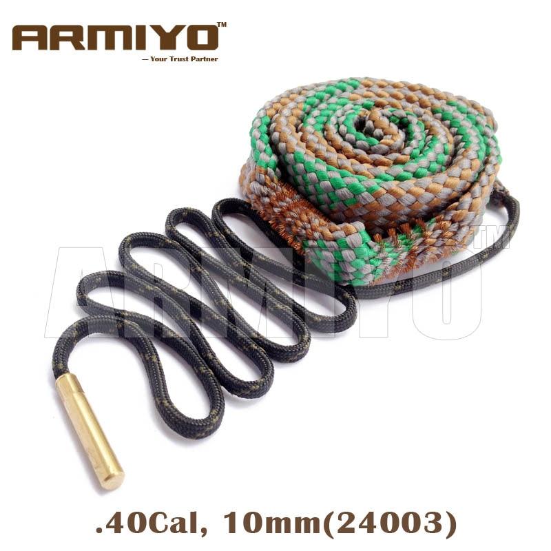 Armiyo Bore Snake .40 .41Cal 10mm Gun Barrel Cleaner Pistol Bore Cleaning Sling Rope 24003 Shooting Clean Kit Accessories