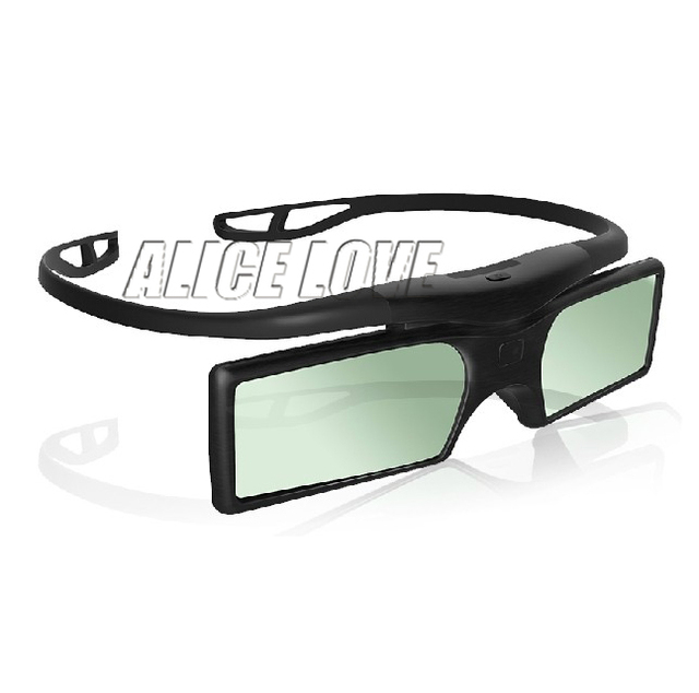 4pcs Bluetooth 3D Active Shutter Glasses case for Sony Samsung Panasonic EPSON 3D TV Replace TDG-BT500A TDG-BT400A  55X8500B
