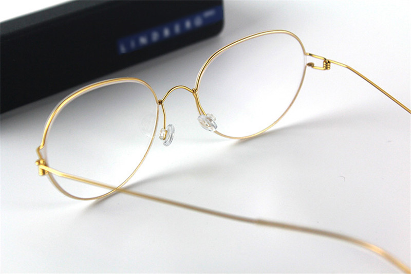 Punctual Mongoten Round Retro Unisex Alloy Full Rim Myopia Eyewear Frame Silver Gold Clear Lens Optical Eyeglasses Spectacle Frame Elegant Shape Apparel Accessories