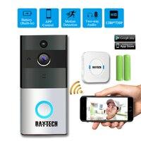 DAYTECH Wireless WiFi Video Doorbell Camera IP Ring Door Bell Two Way Audio APP Control IOS