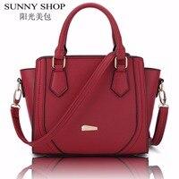 SUNNY SHOP Luxury Women Bag Designer Women Messenger Bags Handbags Women Famous Brands Shoulder Bags High