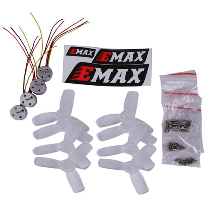 2017 EMAX RS1104 5250KV FPV brushless motor + 2345 three-blade propeller 4 pairs set kit original emax 4pcs rs1104 5250kv