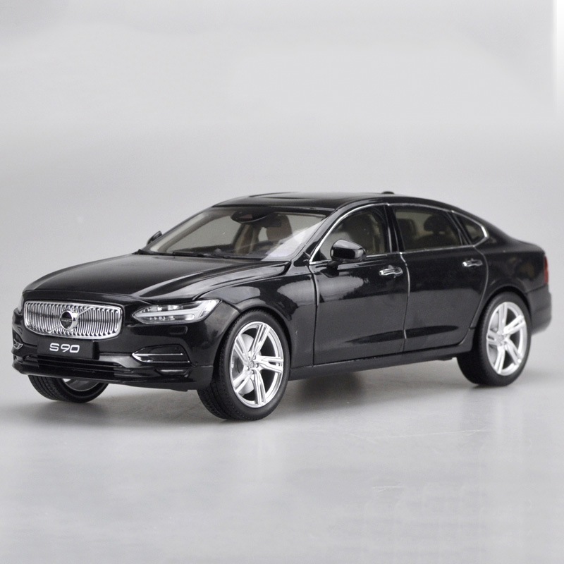R 1:18Alloy Pull Back Toy Vehicles VOLVO S90 Sports Car