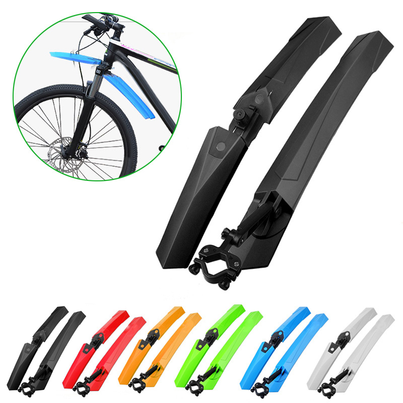 New High Quality Bicycle Cycling Wings Guard Mud Fender Upgraded Version Fender Bicycle Parts 5Colors shop YS-BUY