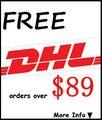 Бесплатные DHL заказов по $ 89
