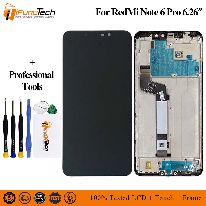For Xiaomi Redmi note 6 Pro Lcd Screen Display with Touch
