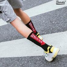 2019 Bendu Brand New Mens Cotton Socks Skateboard Happy Street Fashion Hip Pop Crew Casual Breathable 1 Pair