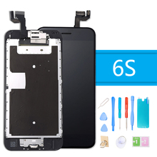 Full Set LCD Display for iPhone 6S Touch Screen Digitizer Full Assembly for iPhone 6S Screen Replacement Complete + Repair Tools data sync cradle docking charger for garmin forerunner220 g25